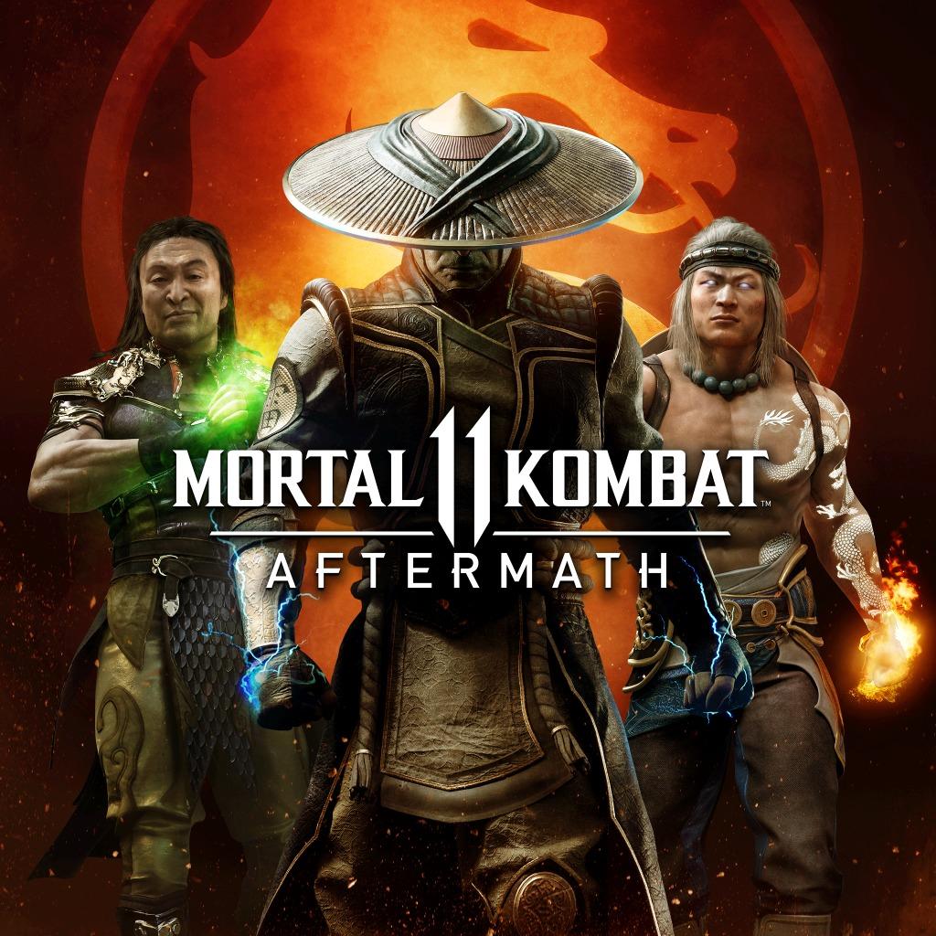 [Possesseurs Mortal Kombat 11] DLC Mortal Kombat 11: Aftermath sur PS4 (dématérialisé)