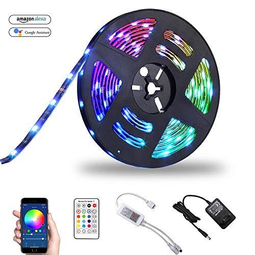 Ruban LED connecté Bawoo - RGB, 5 m (vendeur tiers)