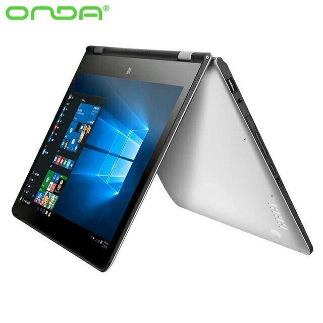 "Ultrabook 11.6"" Full HD Onda oBook 11 (Intel Cherry Trail Z830, 2 Go Ram, 32 Go Rom, Windows 10)"