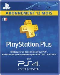 Abonnement Playstation plus, 1 mois à 6,49€ /  3 mois à 11,69€ /  1 an
