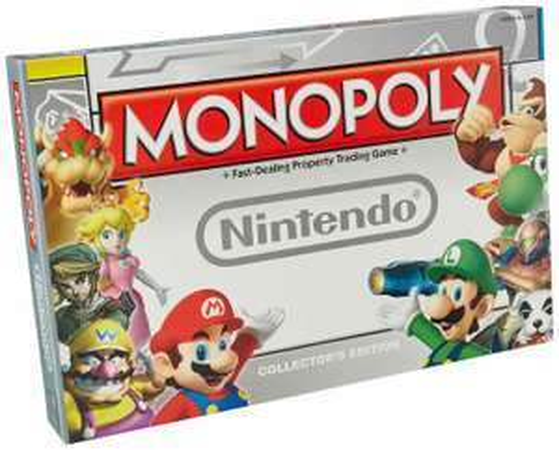 Jeu de société Monopoly Nintendo