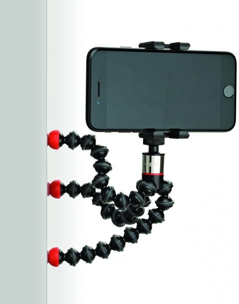 Support magnétique et universel pour smartphones Joby One GP - Trépied GorillaPod flexible avec Télécommande bluetooth