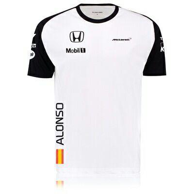 Lot de 2 T-shirts McLaren Honda (taille au choix)