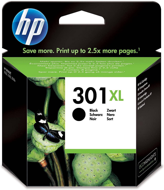 Cartouche d'encre HP 301 XL - Noir