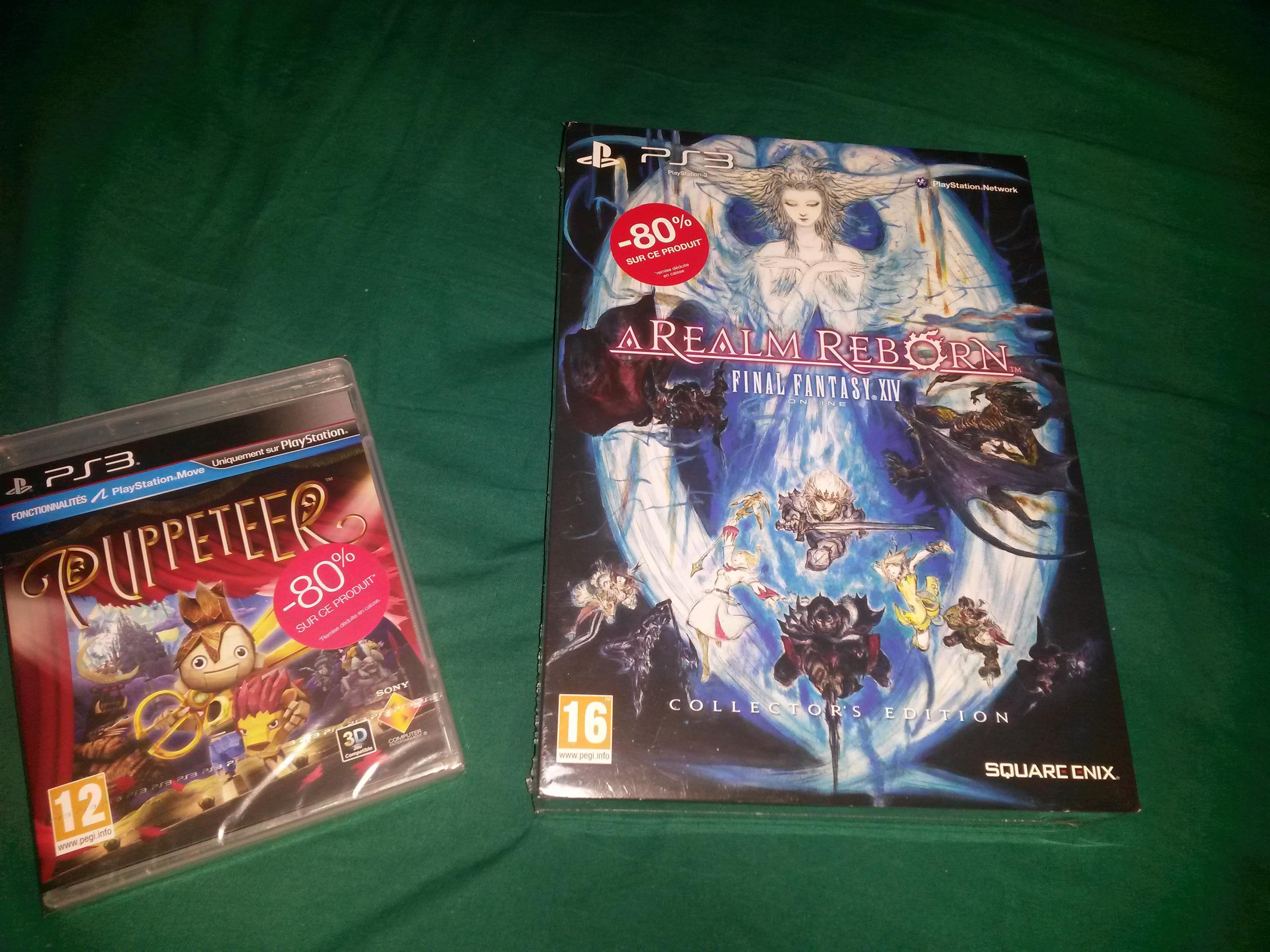 Sélection de jeux en promo - Ex : Puppeteer sur PS3