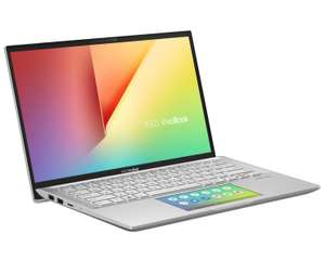 "PC Portable 14"" Asus VivoBook S14 S432FA-EB052T avec ScreedPad - Full HD, i7-10510U, SSD 512 Go, RAM 8 Go, Windows 10"