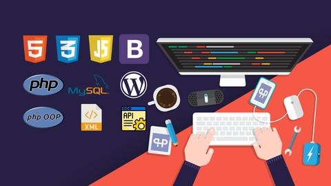 Cours en ligne The Complete 2020 PHP Full Stack Web Developer Bootcamp (Dématérialisés - Anglais)