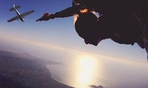 Saut en parachute en tandem à Saint Tropez