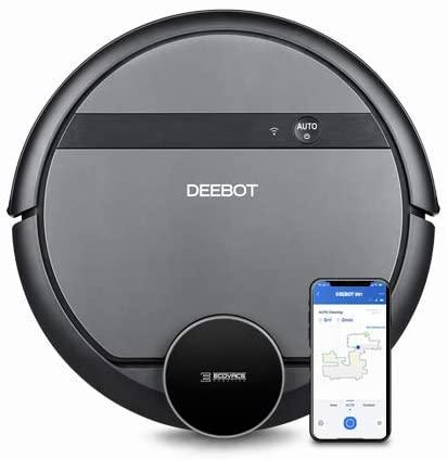 Aspirateur robot connecté Ecovacs Deebot 901 - Cartographie, Barrière virtuelle, Compatible Google Home et Amazon Echo (Vendeur tiers)