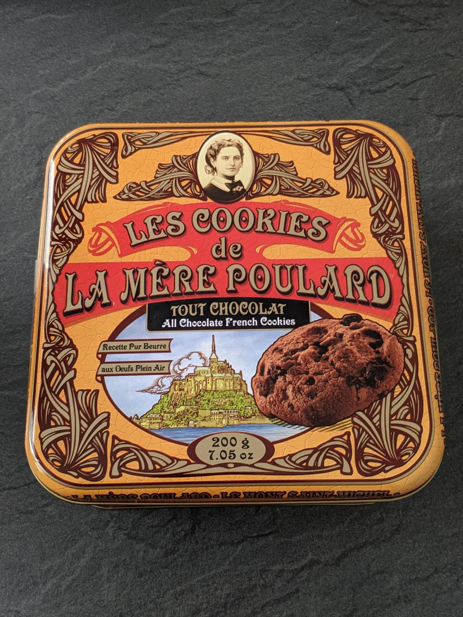 Boite de Cookies ''Les Cookies de la Mère Poulard (200 gr) - Dijon (21)