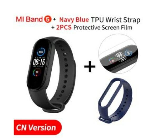 Bracelet connecté Xiaomi Mi Band 5 - Version CN (Vendeur tiers)