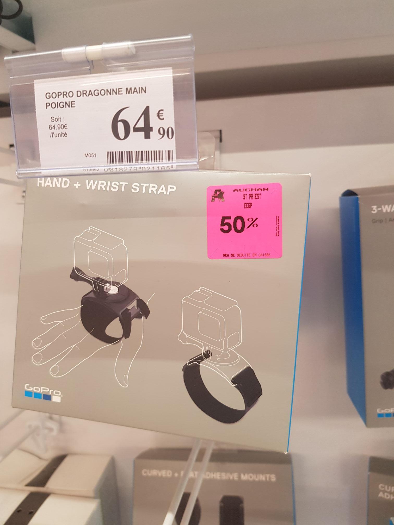50% sur une sélection d'accessoires accessoires GoPro - Ex : Dragonne de poignée et main GoPro - Saint Priest (69)
