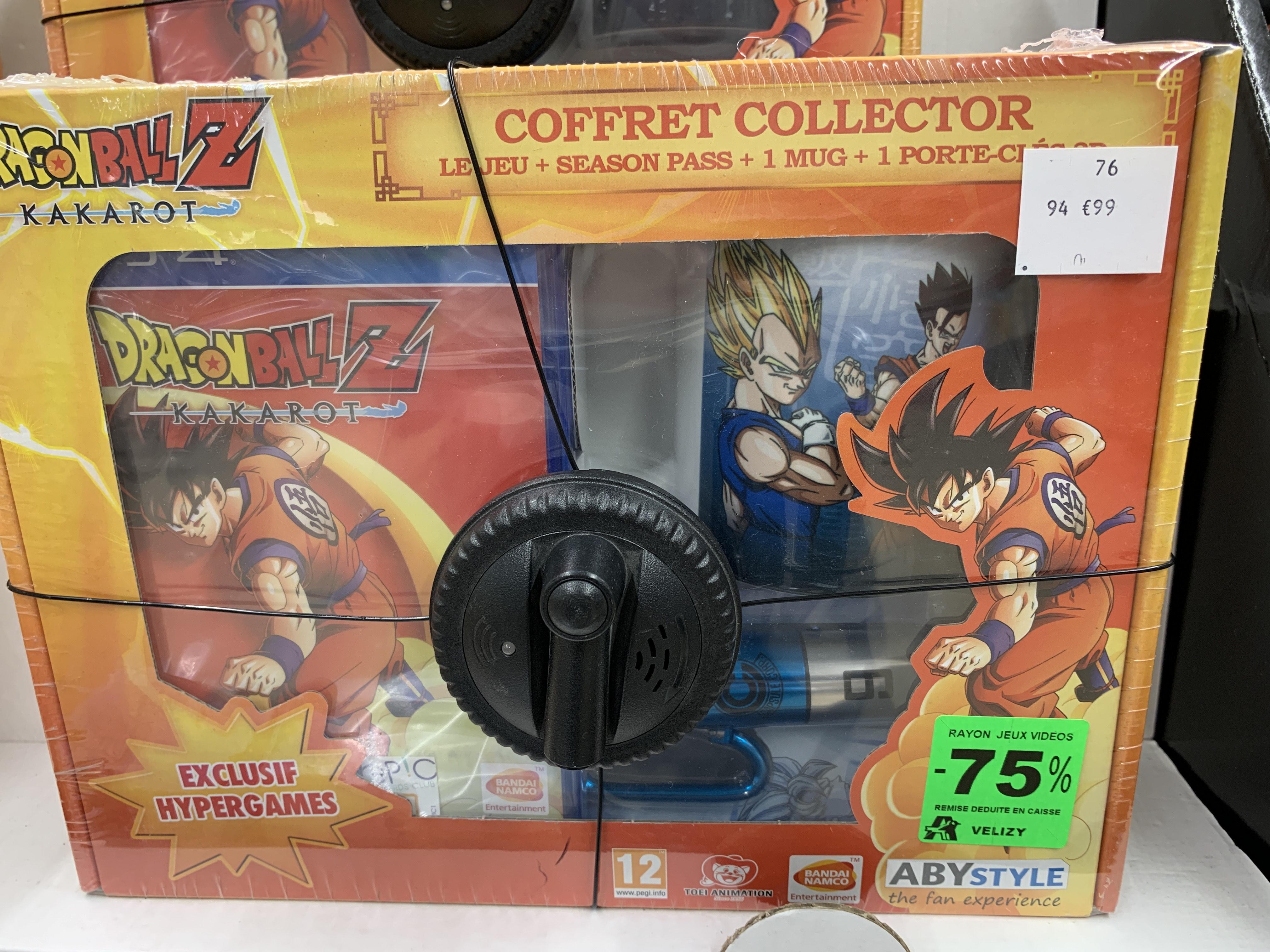 Coffret Collector Dragon Ball Z Kakarot sur PS4 - Vélizy 2 (78)