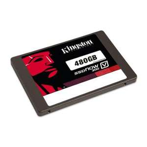"SSD interne 2.5"" Kingston SSDNow V300 (Mémoire MLC) - 480 Go"