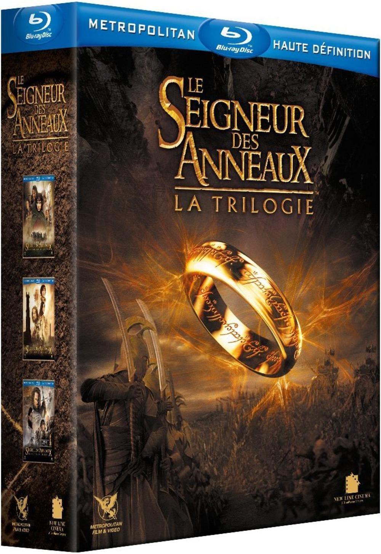 Coffret Blu-ray La trilogie Seigneur des Anneaux - Version Cinéma