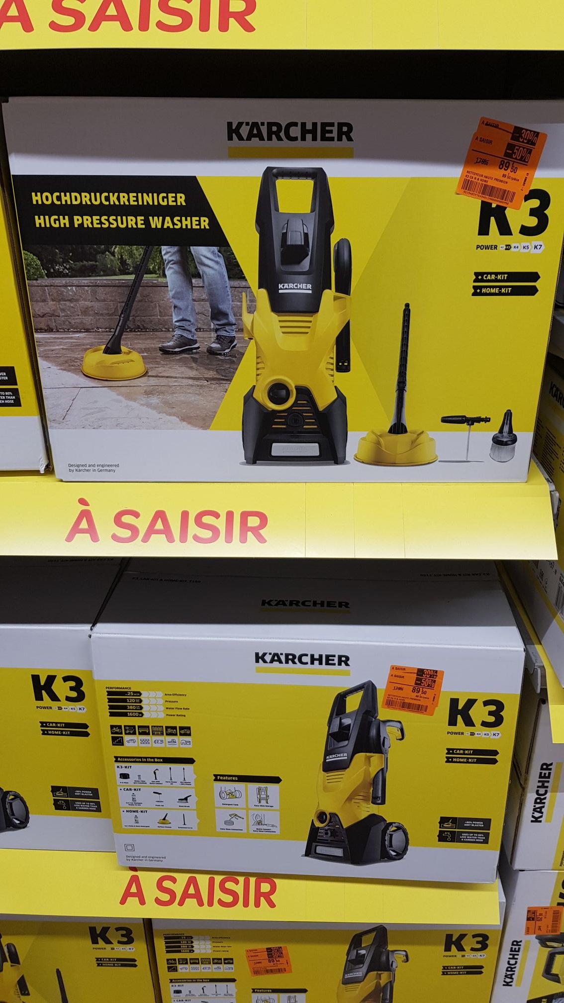 Nettoyeur haute pression Karcher K3 - Carrefour market Saint Amand (50)