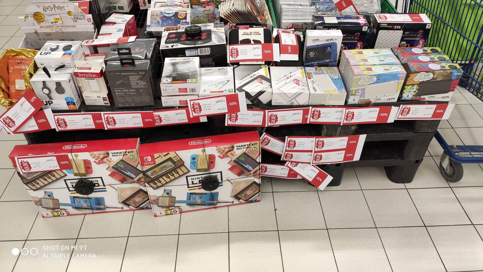 Sélection de consoles Nintendo 3DS en promotion - Ex : Console Nintendo New 3DS (Blanche) - L'Isle-sur-le-Doubs (25)