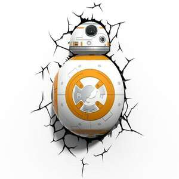 Applique en 3D Star Wars BB-8