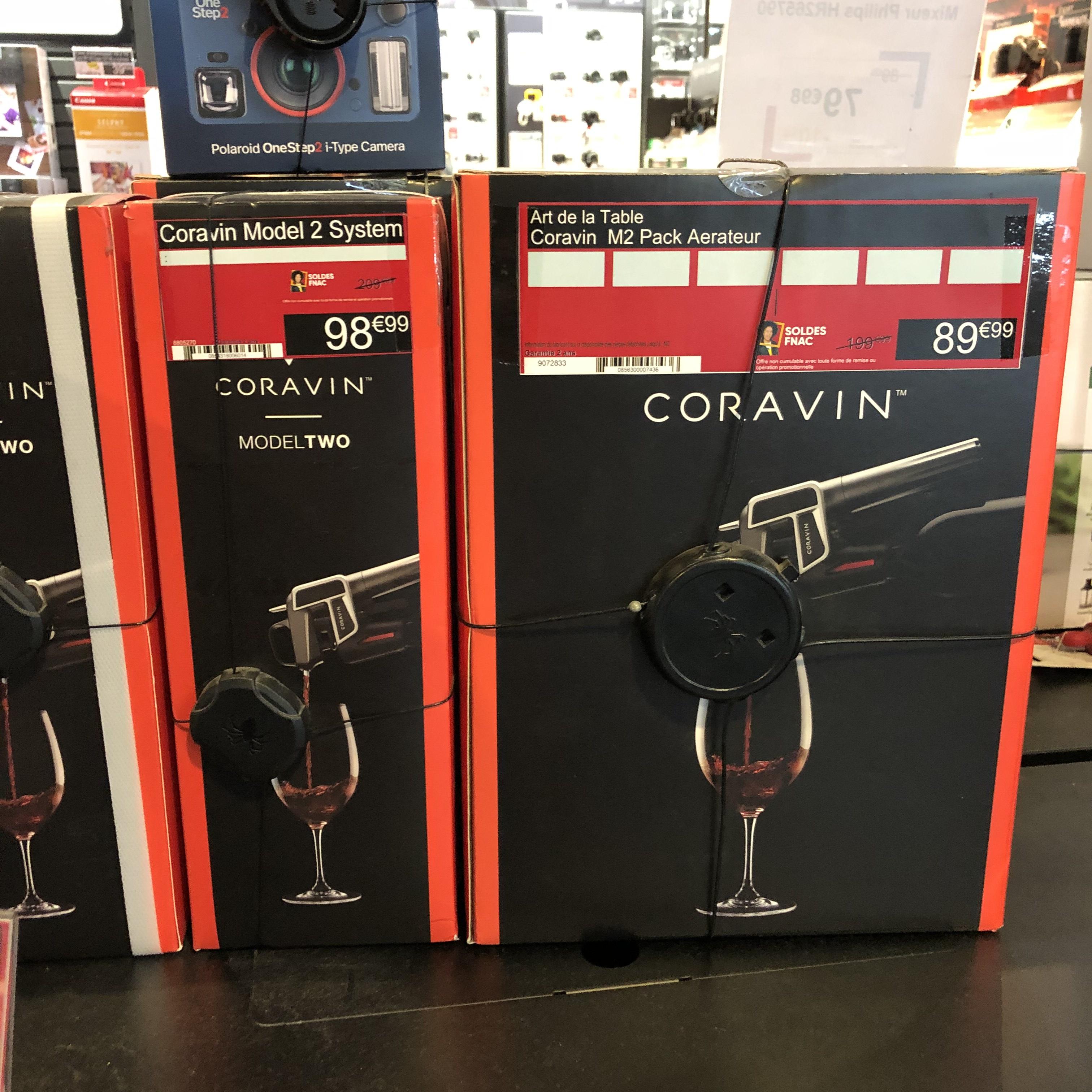 Système de préservation Coravin model Two - Créteil (94)