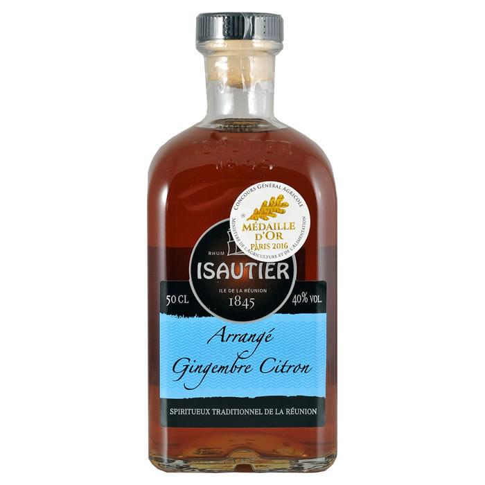 Arrangé Isautier Gingembre Citron 50 cl - Toulouse Lalande (31)