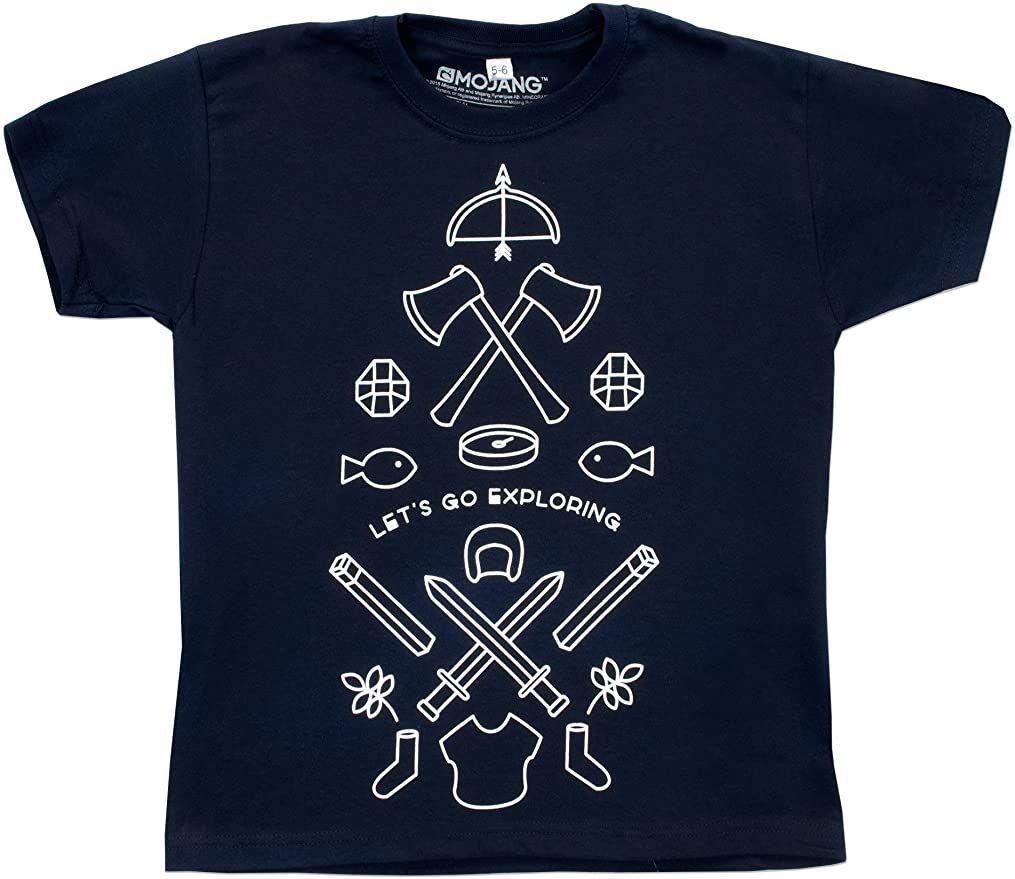 T-Shirt Garçon Minecraft - 5/6 ans