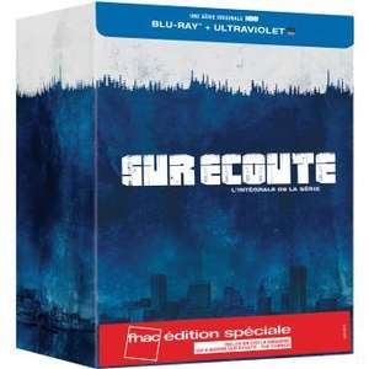 Intégrale Blu Ray The Wire (Sur Écoute) + Copie digitale - Édition Fnac (avec The Corner)