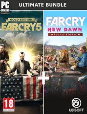 Far Cry Édition Ultime: Far Cry 5 Gold (Jeu + SP + Far Cry 3 Classic) & Far Cry New Dawn Edition Deluxe sur PC (Dématérialisé - Uplay)