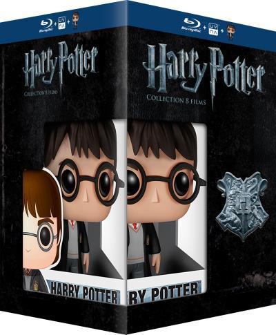 Coffret Blu-ray Harry Potter - Intégrale 8 films -  (+ figurine Pop)