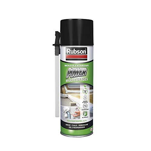 Mousse expansive Rubson Multi Usages pour isolation thermique et acoustique - 500 mL