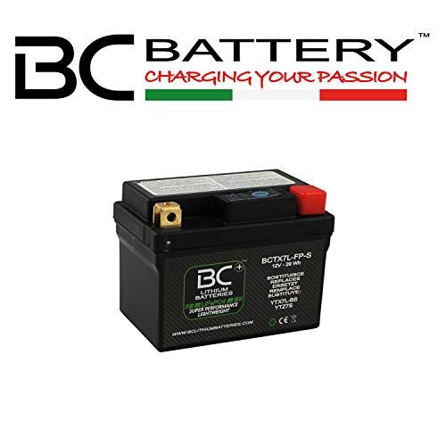 Batterie lithium BC BCTX5L-FP-S LiFePO4 pour moto