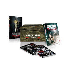 Coffret Guerre édition limitée (6 DVD) : Apocalypse + Hitler + Traque des nazis + 8 mai 1945