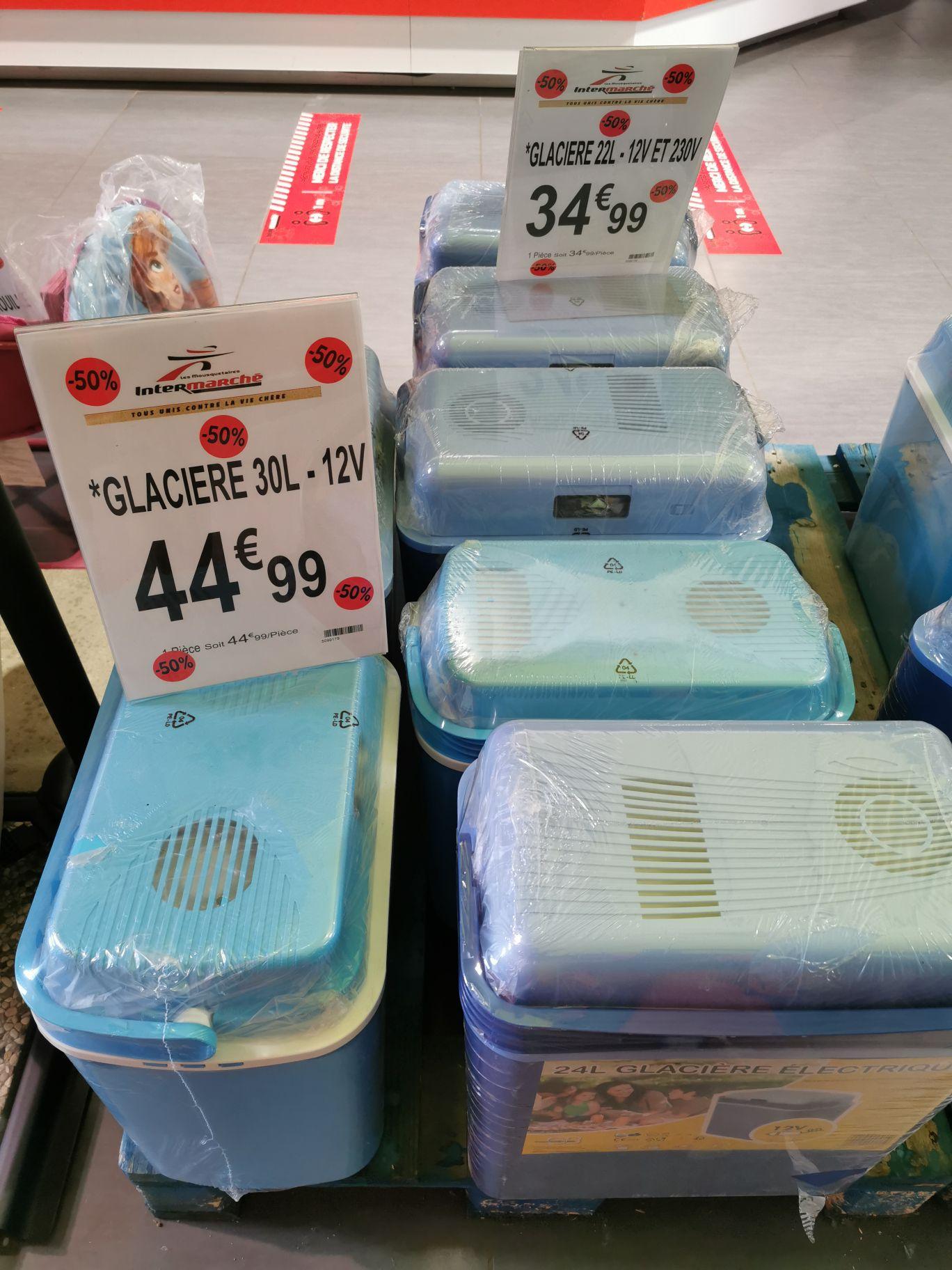 Glacières 22L à 17.49€ et 30L à à 22.49€ - Maulette (78)