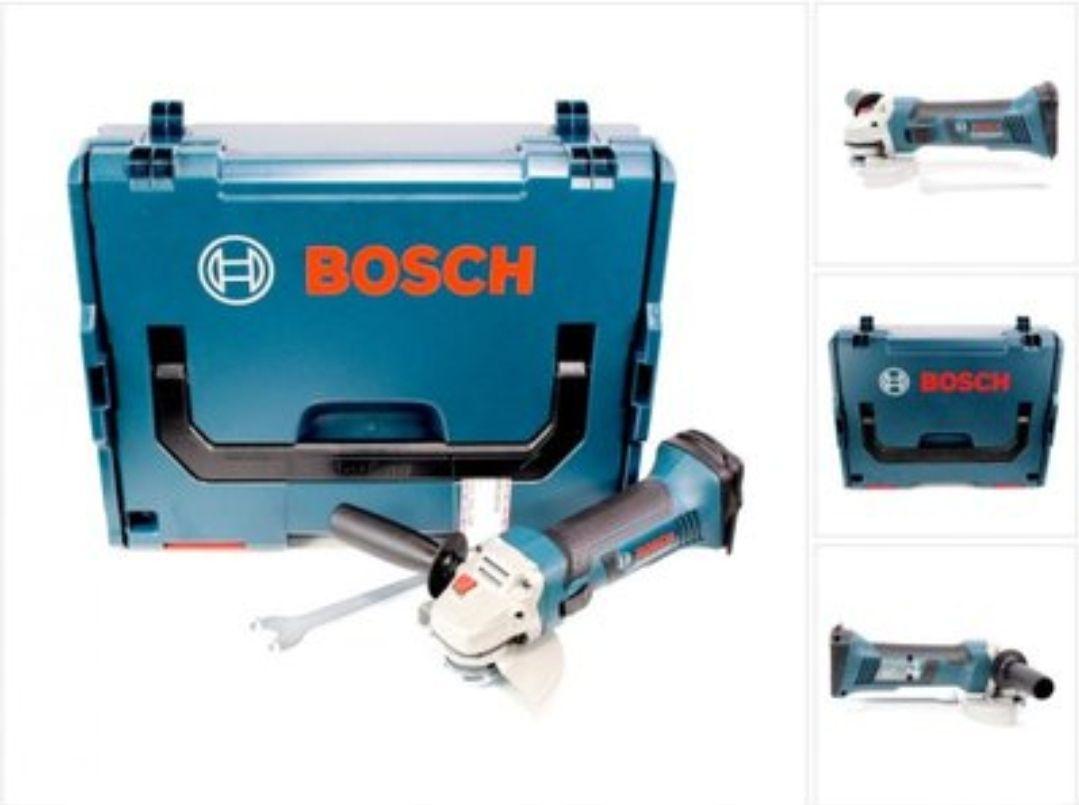 Meuleuse Angulaire Sans Fil Bosch Professional GWS 18-125 V-LI - 18V avec L-Boxx (sans batterie, ni chargeur)