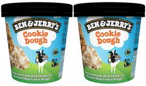 [Carte colruytplus] Lot de 2 pots de crèmes-glacées Ben & Jerry's - Différentes variétés (via BDR)