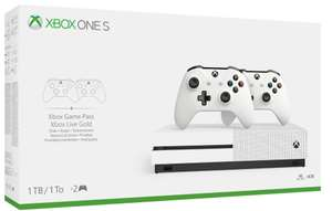 Console Microsoft Xbox One S (1 To) + 2ème manette