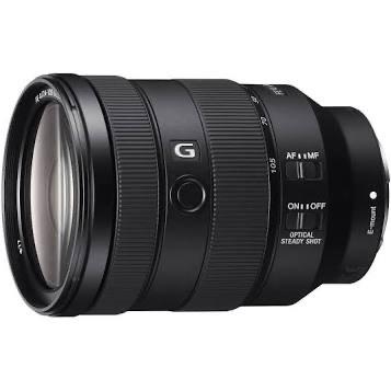 Objectif hybride Sony FE 24–105 mm F4 G OSS (Via ODR 100€)