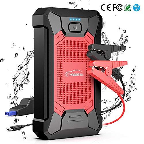 Booster de Batterie Voiture Yaber - 800A, 12000mAh, IP66 (Vendeur Tiers)