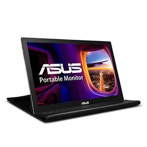 "Écran LED PC 15.6"" Asus MB169B+ Portable - 1920 x 1080, 14ms, USB / DisplayPort"