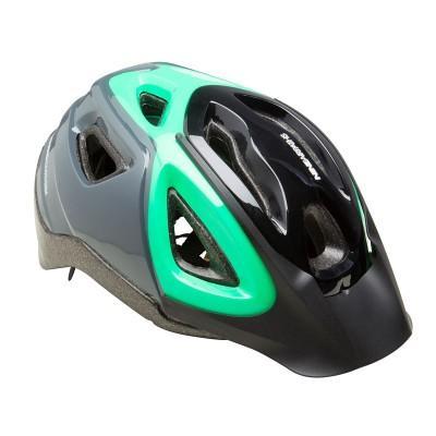 Casque de Vélo B'Twin - Vert ou Bleu (Taille L)
