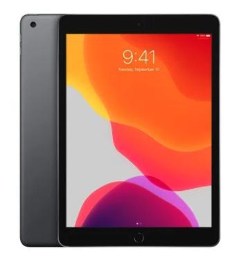 "Tablette 10.2"" Apple iPad Wi-Fi - 128 Go, Gris Sidéral (357.68€ via RAKUTEN30)"