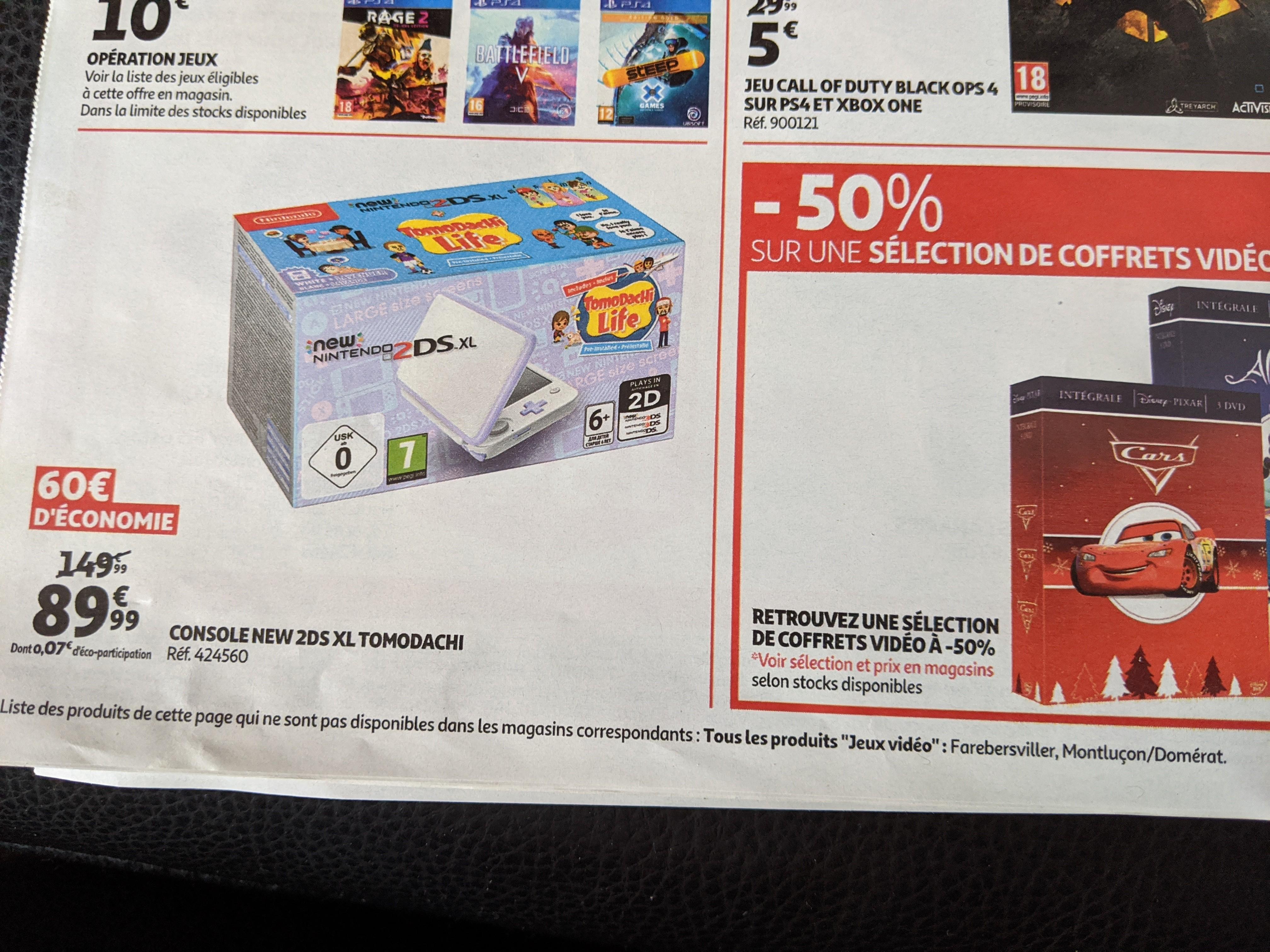 Console New Nintendo 2DS XL Tomodachi