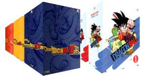 Intégrale Collector Dragon Ball Z + Dragon Ball - 5 Coffrets DVD - 444 épisodes (Non censuré)