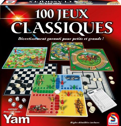Malette de jeu Schmidt (88207) - 100 jeux classiques