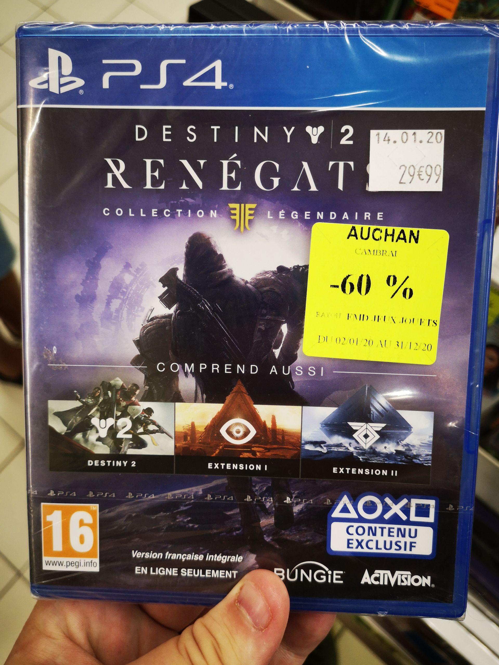Destiny 2: Renégats - Collection Légendaire sur PS4 - Escaudœuvres (59)