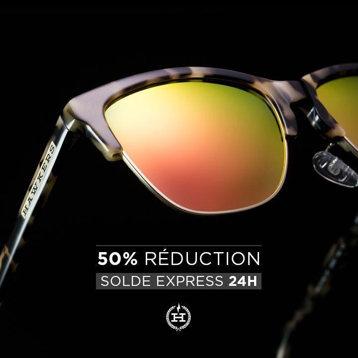 50% de réduction toutes les paires de lunettes