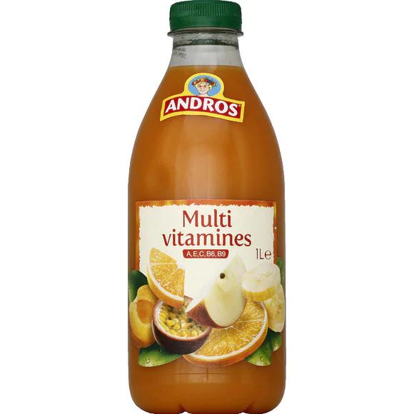Jus Multivitamines Andros (via Shopmium et Fidall)