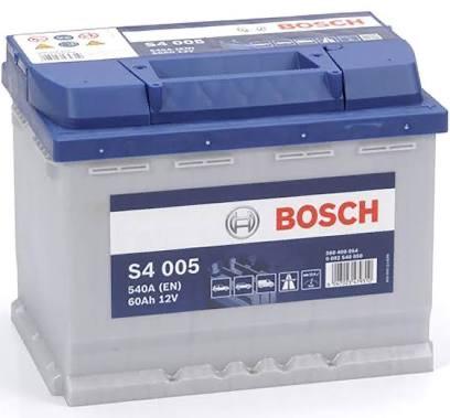 Batterie de voiture Bosch s4005 - 60Ah / 540A