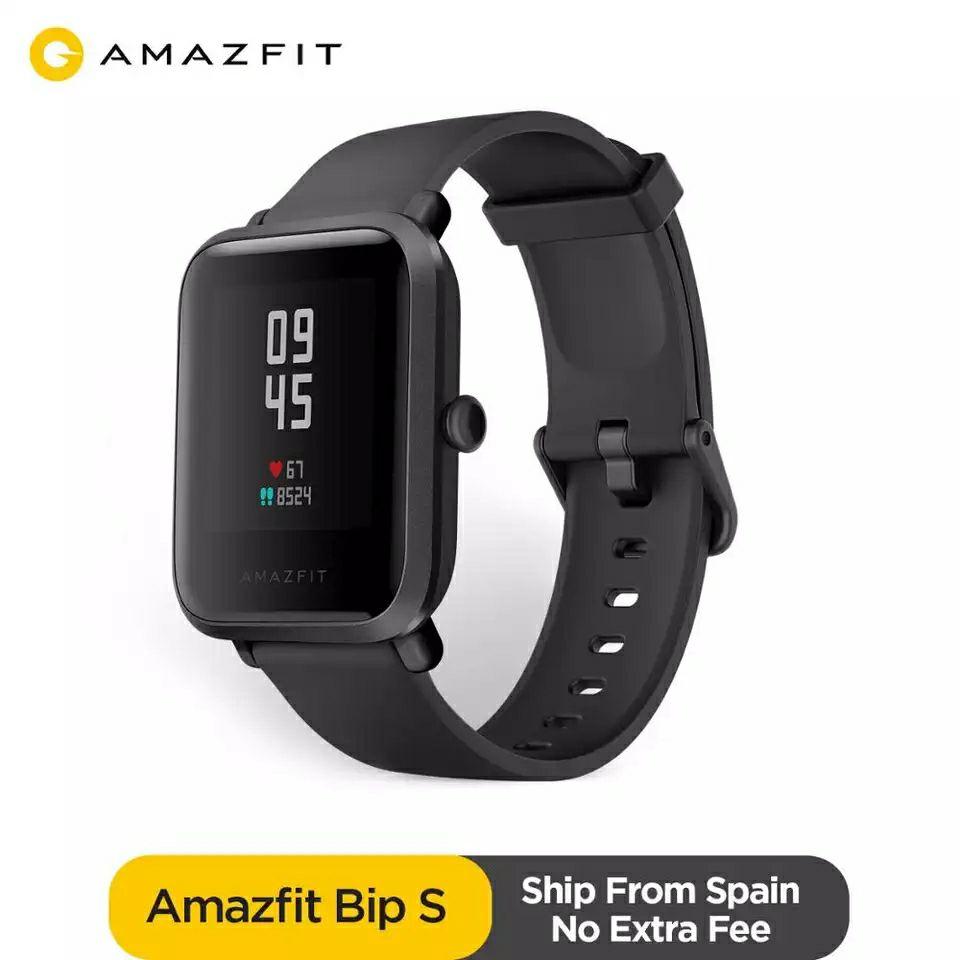 """Montre Connectée GPS 1.28"""" Xiaomi Amazfit Bip S (Coloris au choix) - 5ATM (47,36€ avec le code EUROPE4)"""