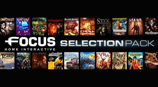Humble Weekly Bundle Focus 2 Interactive : 5 jeux PC (Dématérialisés - Steam)