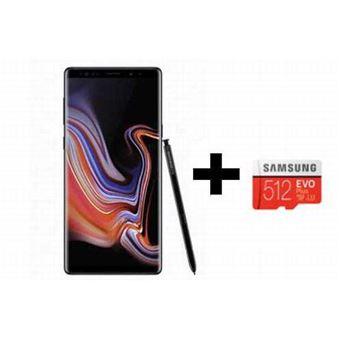 """Smartphone 6.4"""" Samsung Galaxy Note 9 - RAM 6 Go, ROM 512 Go + Carte mémoire 512Go (Vendeur tiers)"""